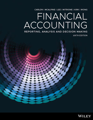 Solution Manual For Financial Accounting Reporting Analysis And Decision Making 6th Edition By Shirley Carlon, Rosina McAlpine, Chrisann Lee, Lorena Mitrione, Ngaire Kirk, Lily Wong, ISBN 9780730356141