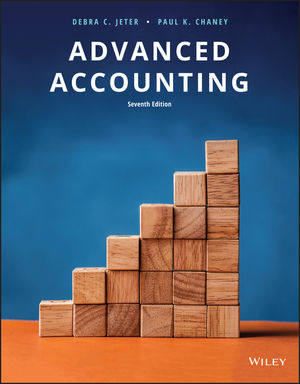 Test Bank For Advanced Accounting 7th Edition By Debra C. Jeter, Paul K. Chaney, ISBN 9781119373254
