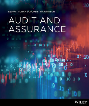 Test Bank For Audit and Assurance Services 1st Edition By Philomena Leung, Paul Coram, Barry Cooper, Peter Richardson, ISBN 9780730354925