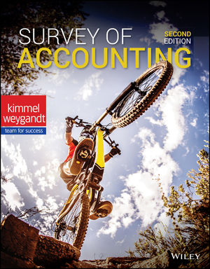 Test Bank For Survey of Accounting 2nd Edition By Paul D. Kimmel, Jerry J. Weygandt, ISBN 9781119591344