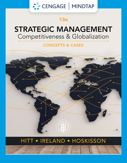 Test Bank for Strategic Management: Competitiveness and Globalization, 13th Edition By Michael A. Hitt, R. Duane Ireland, Robert E. Hoskisson, ISBN-10: 1337916757, ISBN-13: 9781337916752
