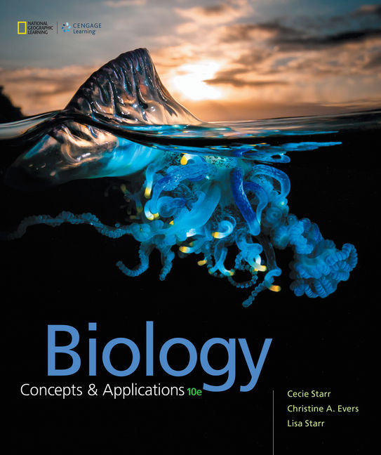 Test Ban For Biology: Concepts and Applications, 10th Edition By Cecie Starr, Christine Evers, Lisa Starr, ISBN-10: 0357464826, ISBN-13: 9780357464823