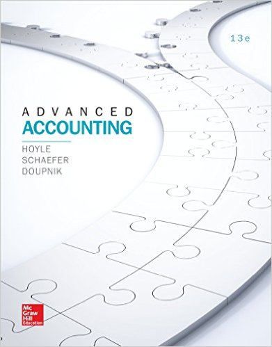 Test Bank for Advanced Accounting, 13th Edition, Joe Ben Hoyle, Thomas Schaefer, Timothy Doupnik, ISBN-10: 1259444953, ISBN-13: 9781259444951
